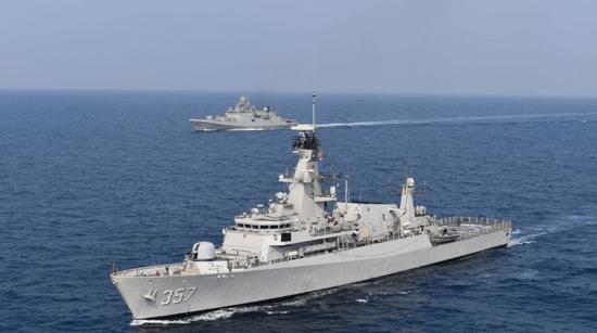 印度海军澄清不会参加中伊俄军演 中国并非主要原因