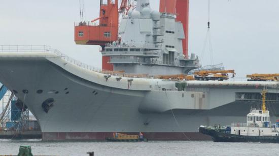 中国国产航母今日疑似进行倾斜试验 检验航行稳定性静思湖贴吧