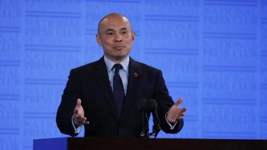 中国公使:感觉在澳大利亚做中国的朋友越来越难了图片