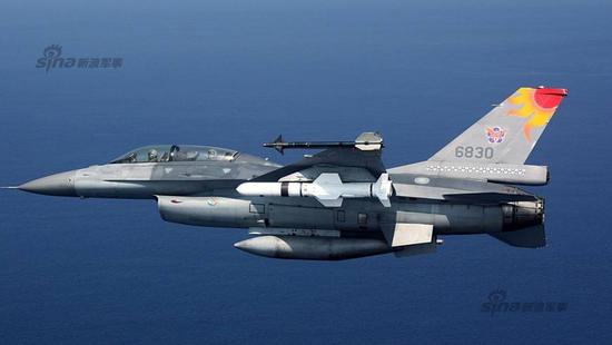 美在台湾设F16维修中心 外媒:两岸局势将进一步紧张