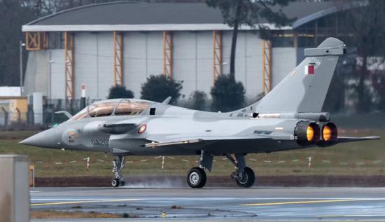 印媒评卡塔尔空军:虽有阵风台风和F15但实力仍很弱