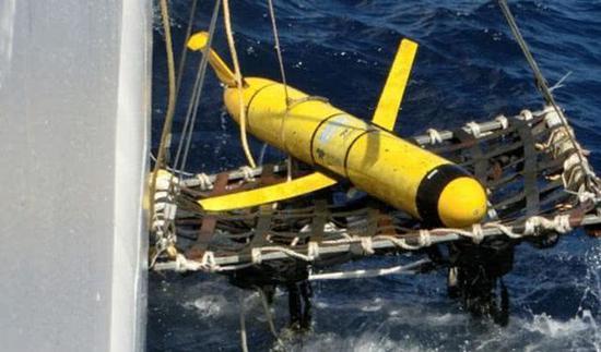 中国渔民捞到外国间谍潜水器 美媒:基本是美海军的