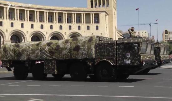 美媒:亚美尼亚这5款先进武器 对阿塞拜疆威胁最大