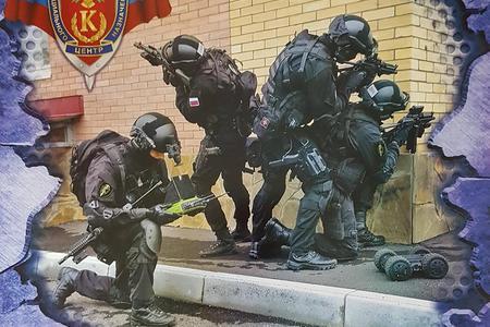 俄安全局特种部队主题挂历