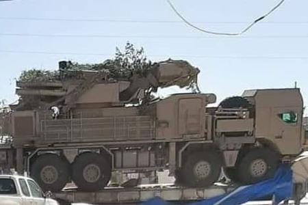 利比亚出现铠甲S1防空系统