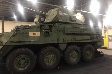 美軍最新斯崔克裝甲車亮相