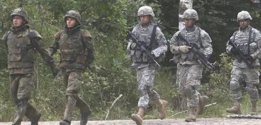 美国将从德国4个基地撤离1.2万美军 半数直接回国