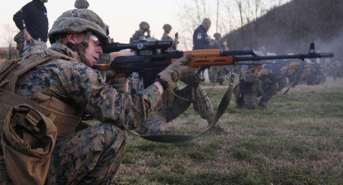 美军用俄式装备已是传统了