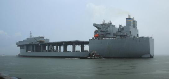 """美军也缺钱 或用这艘""""丑陋""""军舰接替好人理查德号"""