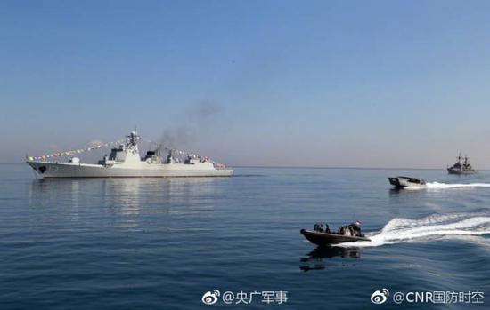 中国海军两艘战舰参加印尼国际海上阅舰式(图)新闻在线52bengbu