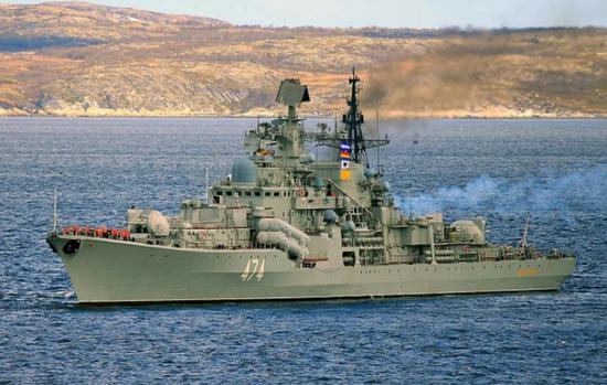 俄海军将升级改装现代级驱逐舰 会向中国学习经验吗