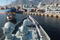一舰队护一国!中国海军印度洋演训