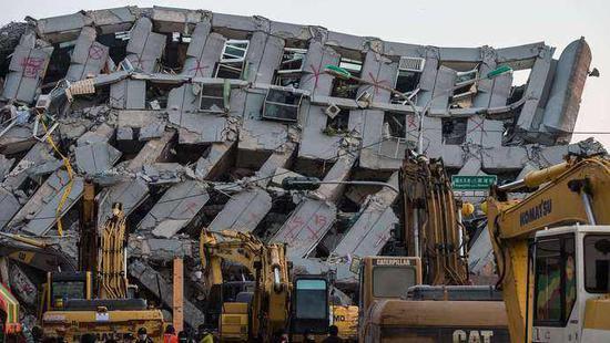 资料图:台湾花莲地震