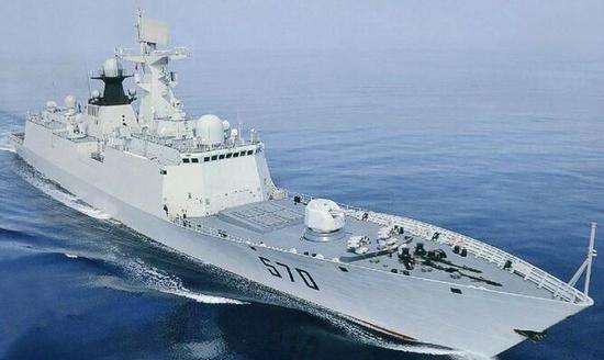 """中国海军""""黄山""""号导弹护卫舰"""