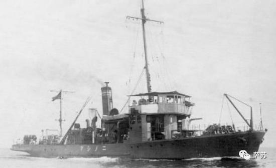 ▲ 圆岛号所在的测天级敷设艇,排水量仅有406吨,1917年建造