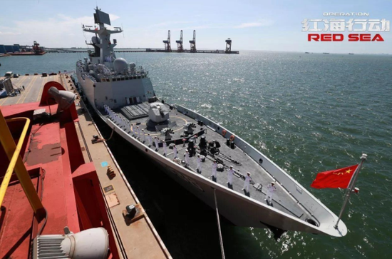 《红海行动》展现中国海军一能力受限 055大驱将具备