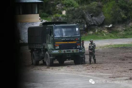 图注:驻扎不丹的印军