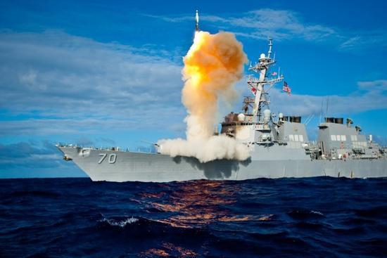"""美国海军""""霍珀""""号导弹驱逐舰"""