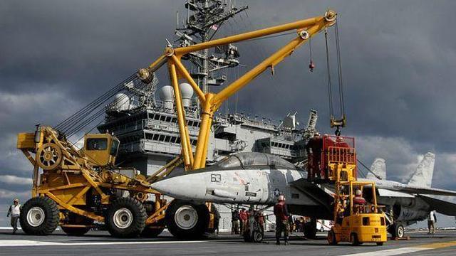逼真度很高!美军航母一救援方式为中国海军指明方向