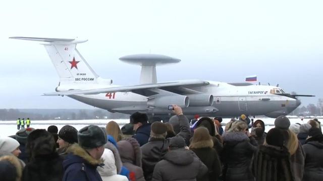 中国当年差点买!俄罗斯预警机A50从叙利亚凯旋