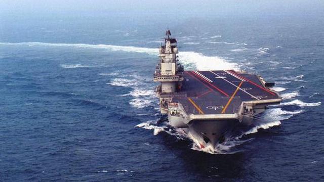 航母的大门向中国打开!辽宁舰研制时一大波美图来临