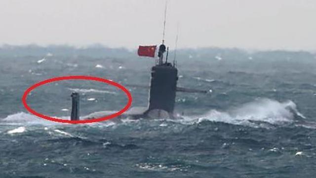 中国海军093B攻击核潜艇首曝靓照 这个细节震憾美日