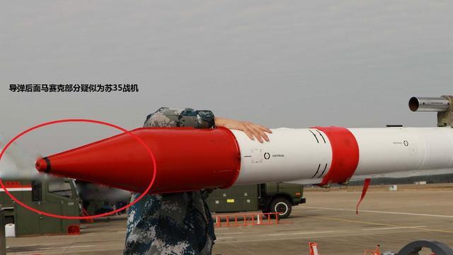 离形成战斗力还远么?中国苏35战机疑挂全新导弹