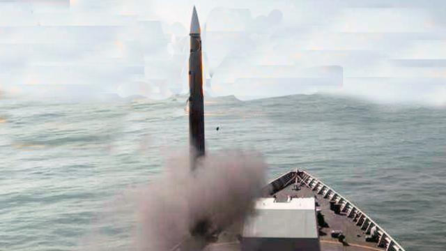 3年才有1张清晰发射照:中国海军最新防空导弹曝光