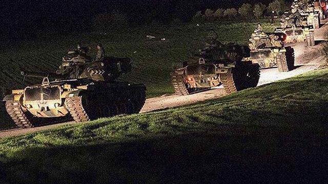 早就想加入美俄战局!土耳其重兵集结进军叙利亚