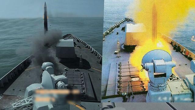 远超美军Mk41!我军052D舰冷热共架大型通用垂发