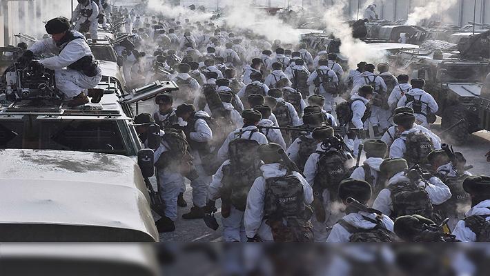 世界第一!我陆军在东北战训气势如虹 猛士车亮瞎眼