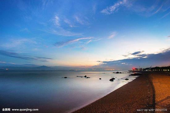 五缘湾沙滩