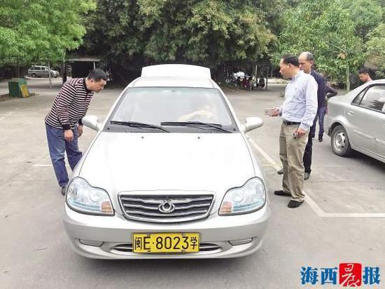 今后,漳州每辆教练车每年最大培训能力暂定为30人。资料图