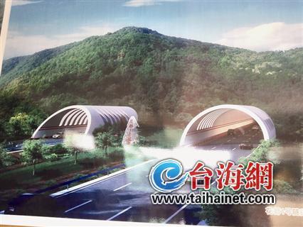 ◆九龙岭隧道效果图