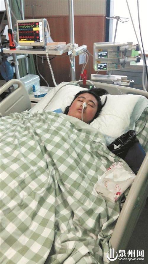   小丽仍在重症监护室抢救