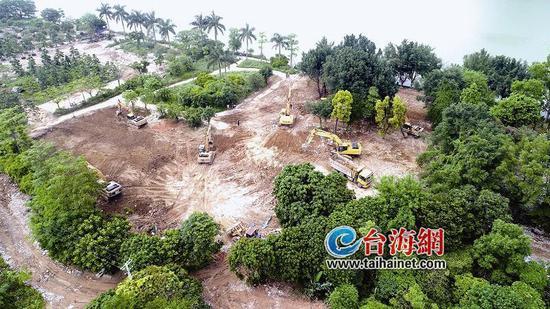漳州南山水岸启动建设 完善南山片区整体景观
