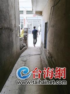 ◆通道口的这堵墙是导火索