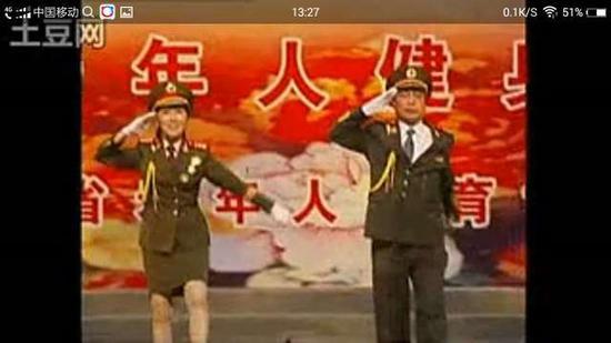2009年参加福建省老年艺术节上演《咱当兵的人》