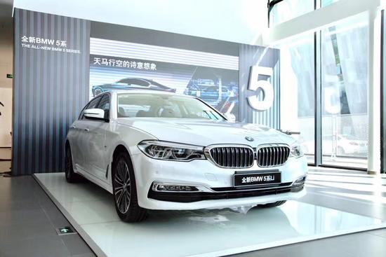 全新BMW5系瞩目亮相