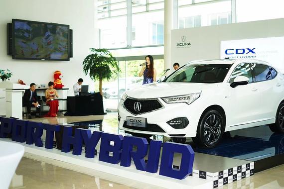 广汽Acura CDX混动车型建发海沧店上市
