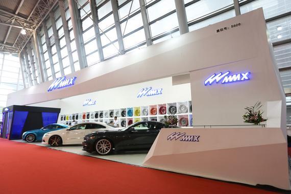 MMX参展2016上海CAS改装展 推出三款新轮毂