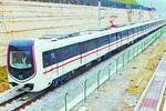 厦门地铁1号线首批列车成功试跑 最高时速80公里