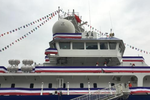 """厦大""""嘉庚号""""科考船首次开放 建立永久命名的松霖通用实验室"""