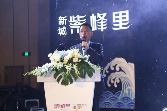 晋江吾悦商业管理公司总经理黄永杰。