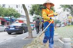 厦环卫女工13年扫坏1800多把扫帚 患腰病仍工作
