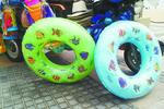 三无救生圈遍布厦门环岛路 材料差易漏气导致遇险
