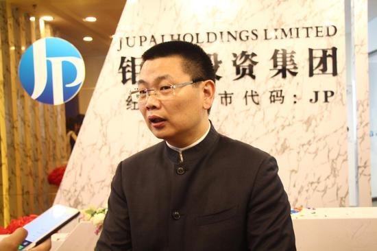 钜派联席董事长兼首席执行官倪建达先生