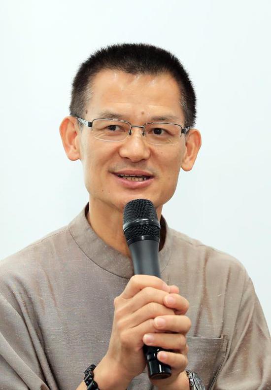台湾中华茶联总会长张富钦