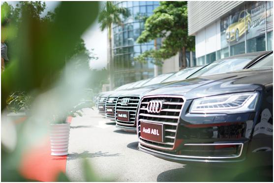 奥迪A8L携手忠泰租赁助力金砖,彰显国宾座驾风范