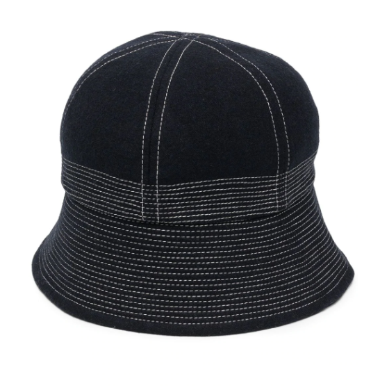 YMC法兰绒钟形帽